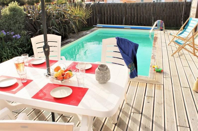 Location de vacances - Villa à Talmont-Saint-Hilaire - terrasse au sud