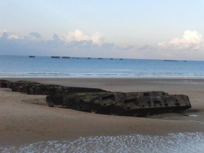 Location de vacances - Gîte à Arromanches-les-Bains - plage d'Arromanches 2