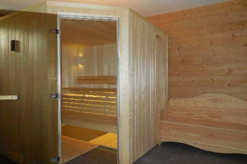 Location de vacances - Chalet à La Chapelle-d'Abondance - sauna