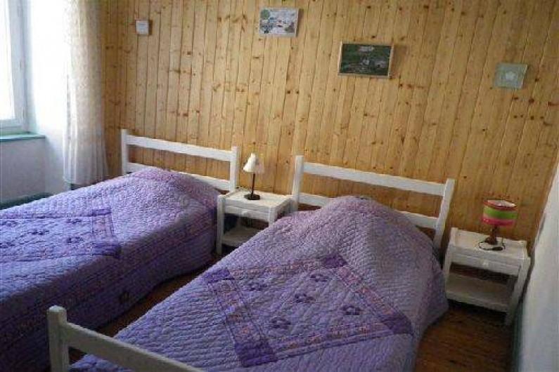 Location de vacances - Maison - Villa à Saint-Agnan-en-Vercors - La chambre Gentiane