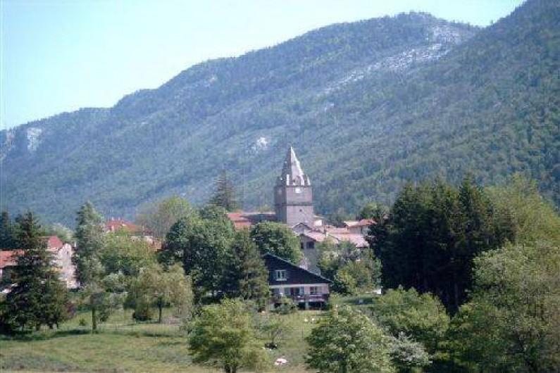 Location de vacances - Maison - Villa à Saint-Agnan-en-Vercors - Vue du village de St Agnan en Vercors