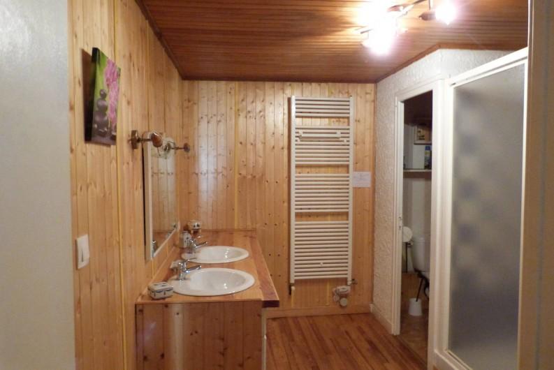 Location de vacances - Maison - Villa à Saint-Agnan-en-Vercors - La salle d'eau
