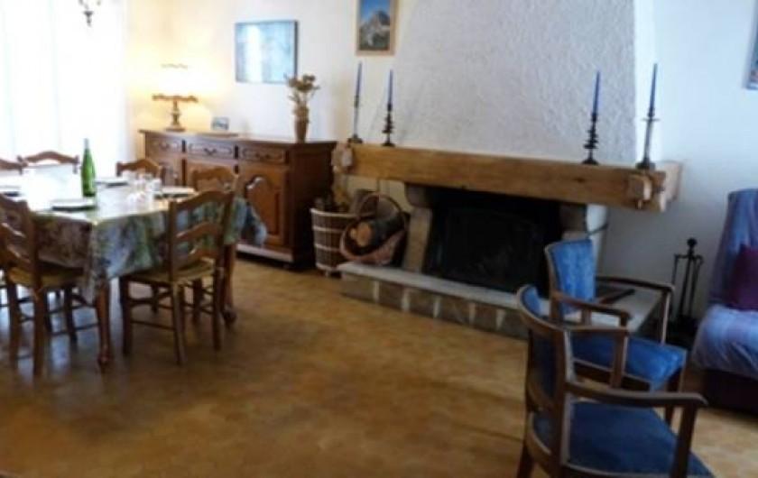 Location de vacances - Maison - Villa à Saint-Agnan-en-Vercors - Le côté Salle à manger
