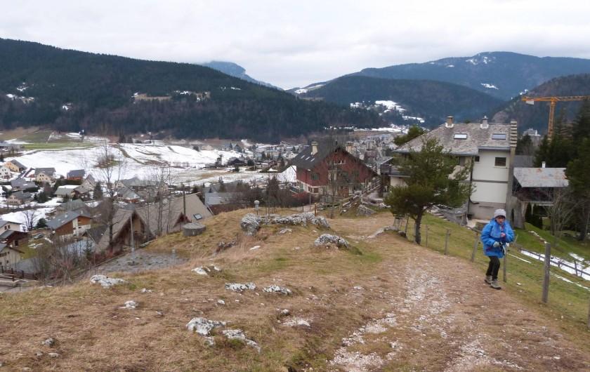 Location de vacances - Maison - Villa à Saint-Agnan-en-Vercors - Randonnée au dessus de Villars de Lans