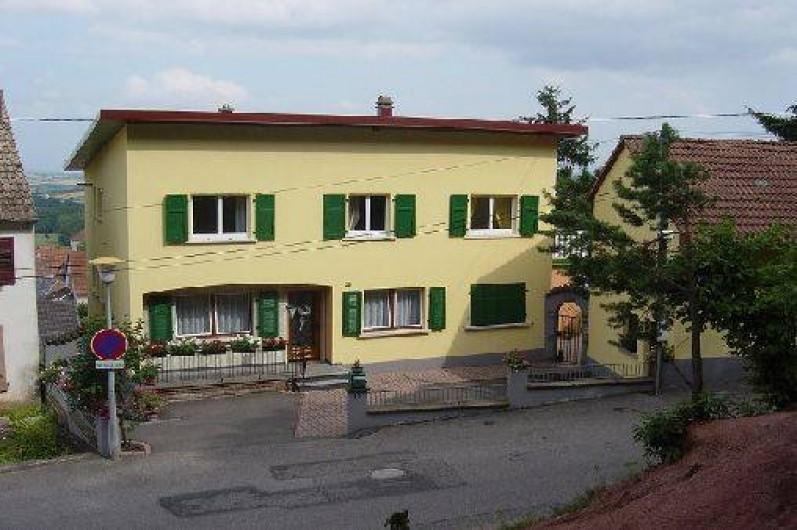 Location de vacances - Appartement à Haegen