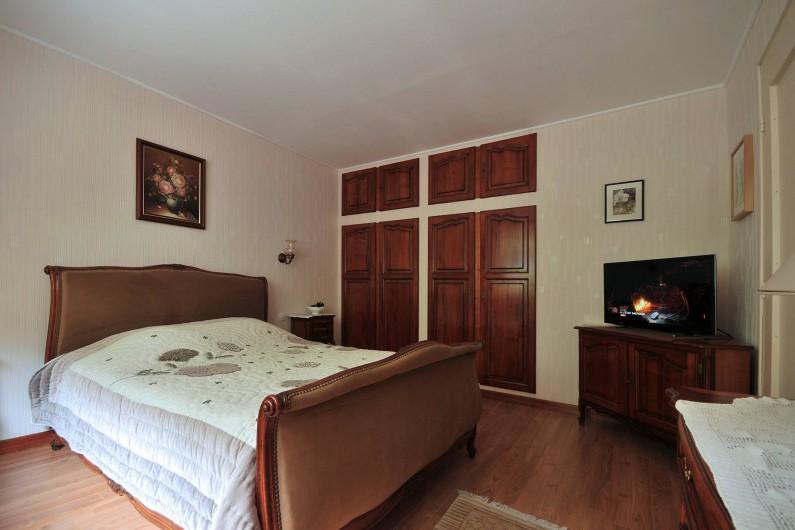 Location de vacances - Appartement à Haegen - Chambre 1 - lit 140x190