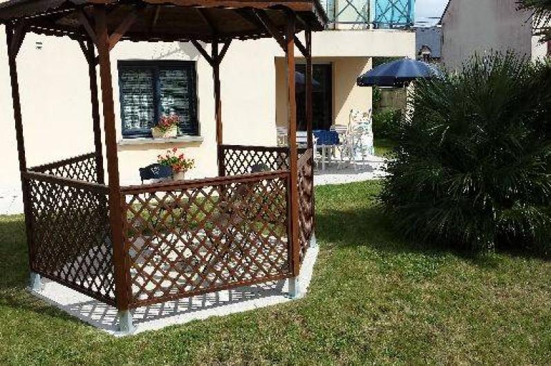 Location de vacances - Gîte à Cherrueix - détente      jardin       pergola