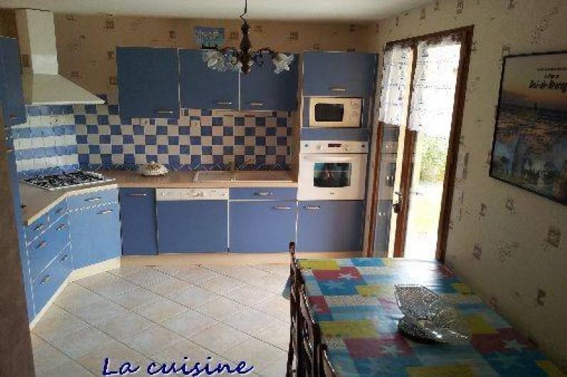 Location de vacances - Gîte à Cherrueix - cuisine