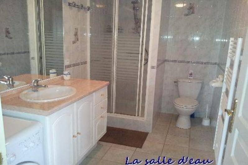 Location de vacances - Gîte à Cherrueix - salle d'eau