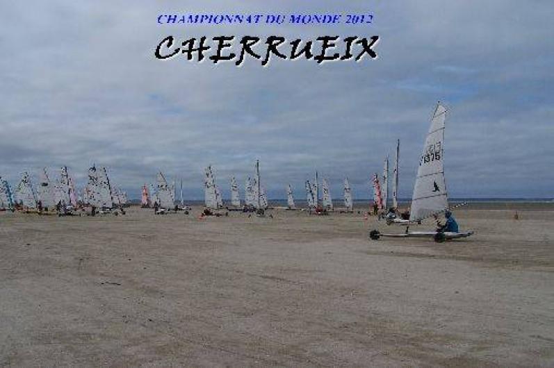 Location de vacances - Gîte à Cherrueix - championnat  du monde  de                 chars  a voile