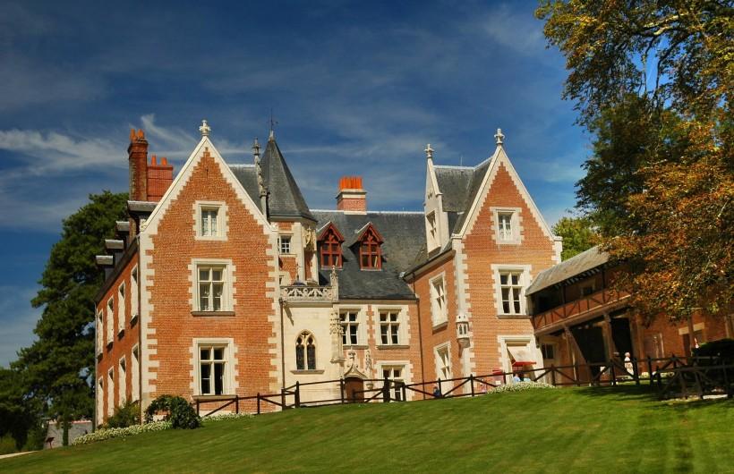 Location de vacances - Gîte à Lussault-sur-Loire - Le Clos Lucé (Leonard de Vinci )