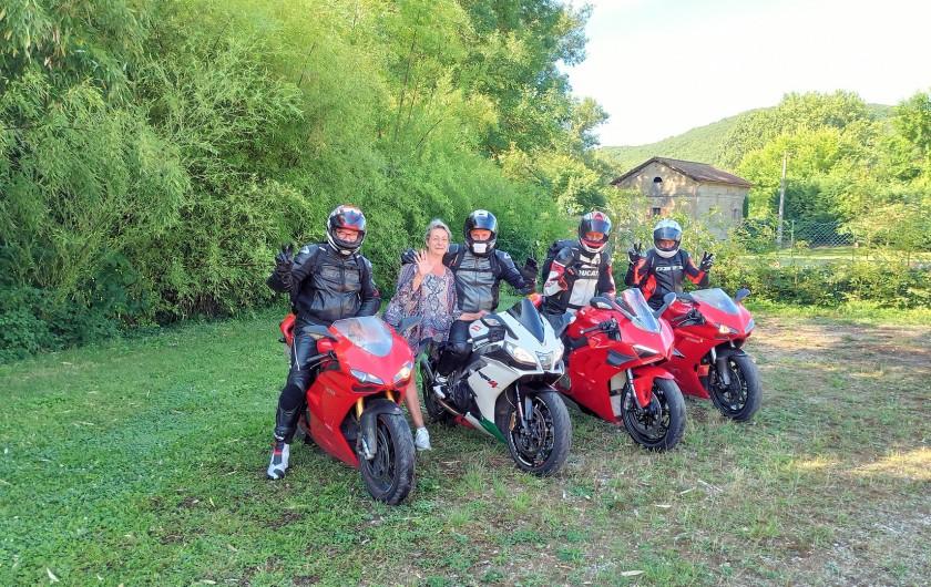 Location de vacances - Chambre d'hôtes à La Madeleine - Nos motards !