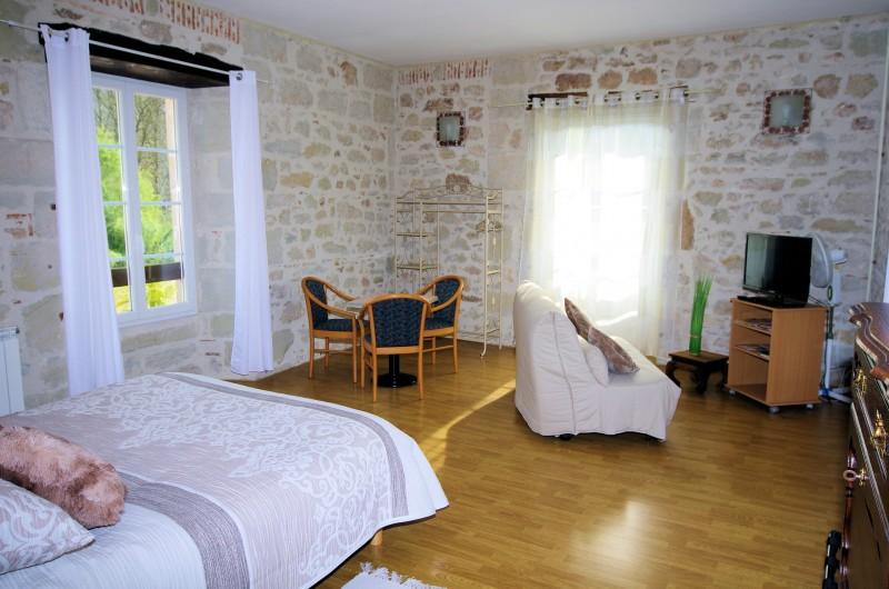 Location de vacances - Chambre d'hôtes à La Madeleine - Grand gîte de 68 m²