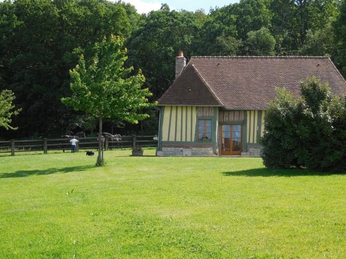 Location de vacances - Gîte à Saint-Germain-de-Livet - près des animaux