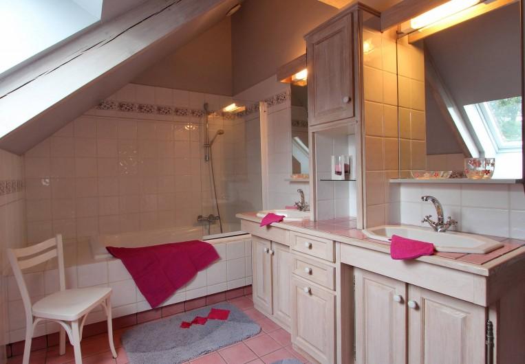 Location de vacances - Gîte à Saint-Alban - Salle de bains
