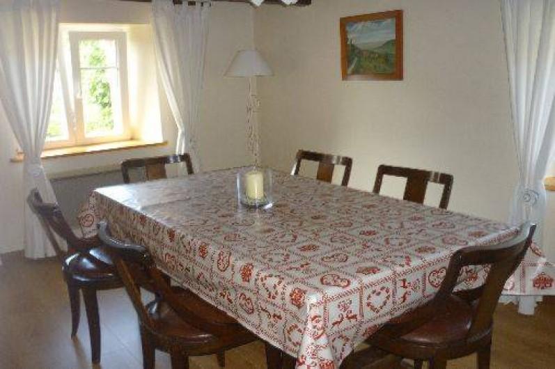 Location de vacances - Gîte à Ranrupt - salle à manger