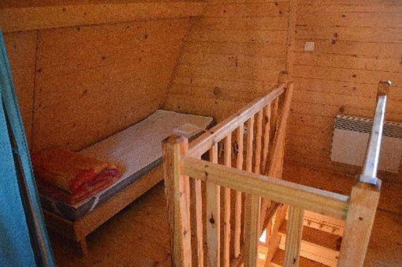 Location de vacances - Gîte à Crisolles - Gîte standard - étage - chambre