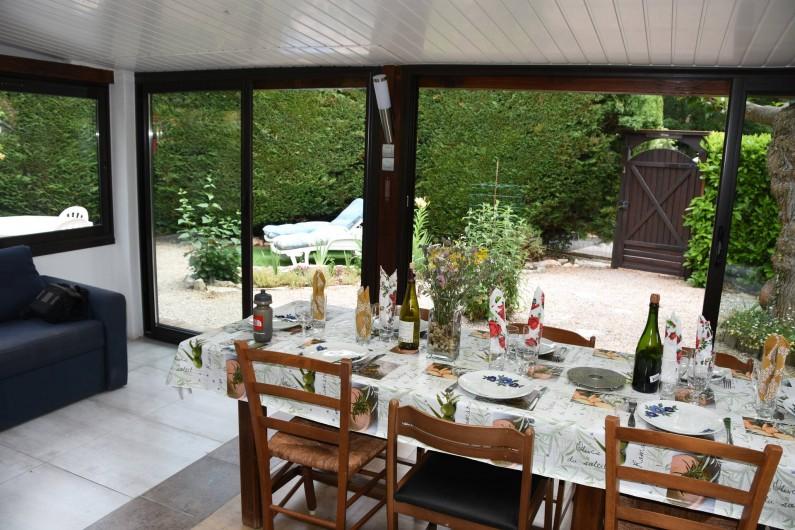 Location de vacances - Villa à Saint-Cézaire-sur-Siagne - Salle de vie