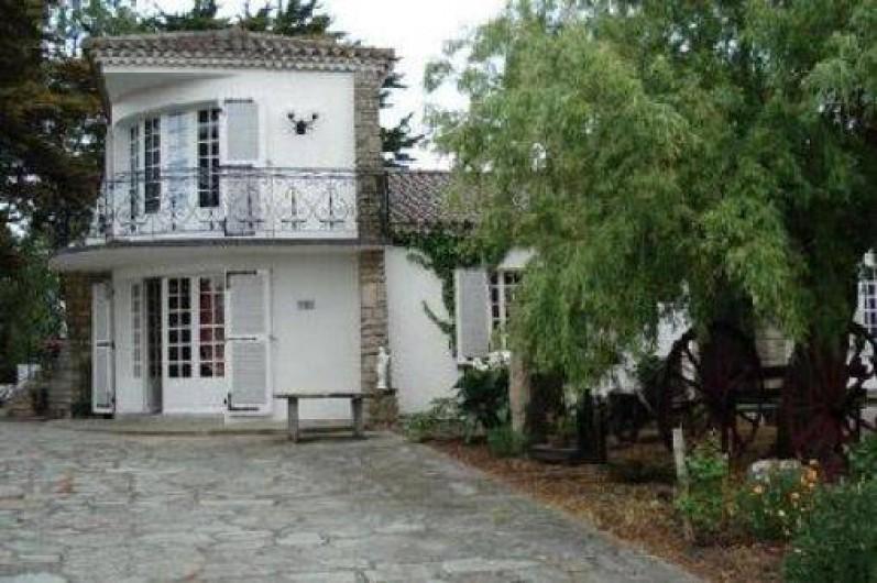 Location de vacances - Maison - Villa à La Guérinière - Entrée du logement l'arrondi