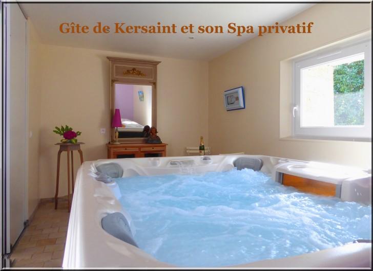 Location de vacances - Gîte à Saint-Igeaux - spa