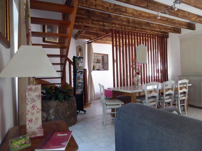 Location de vacances - Gîte à Saint-Igeaux - séjour