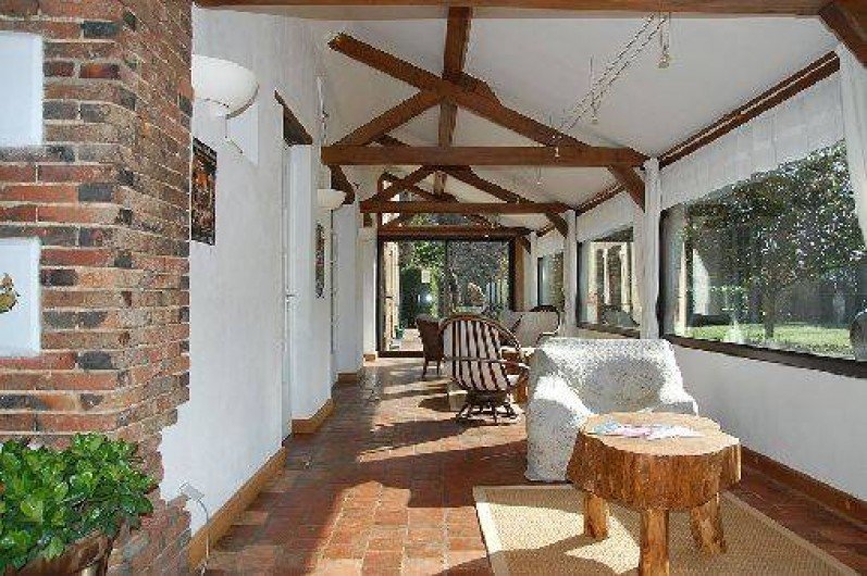 Location de vacances - Chambre d'hôtes à Champignelles - Salon Terrasse