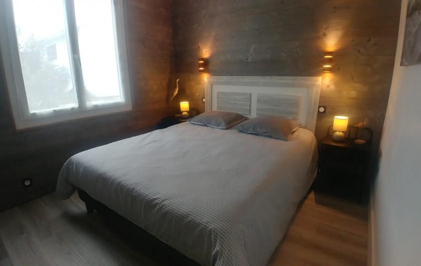 Location de vacances - Villa à La Tranche-sur-Mer - Chambre avec lit 160 cm
