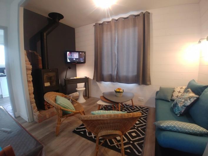 Location de vacances - Villa à La Tranche-sur-Mer - Coin salon