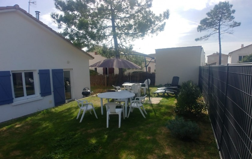 Location de vacances - Villa à La Tranche-sur-Mer - Arrière de la villa