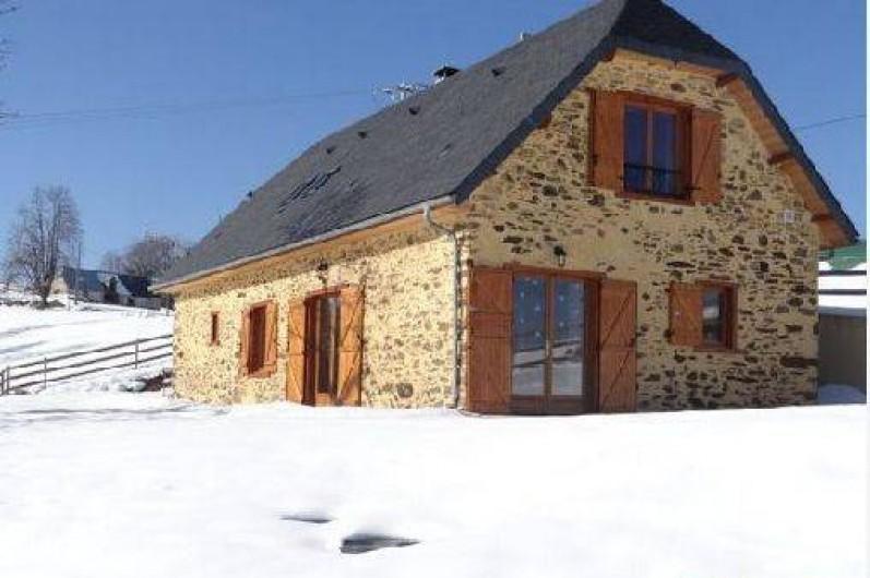 Location de vacances - Maison - Villa à Astugue - Bergerie sous la neige