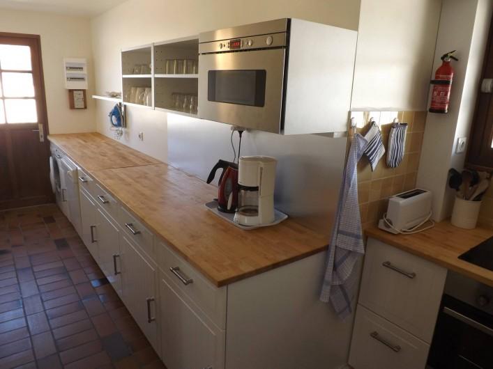 Location de vacances - Villa à Vielle-Saint-Girons - Cuisine indépendante complètement équipée
