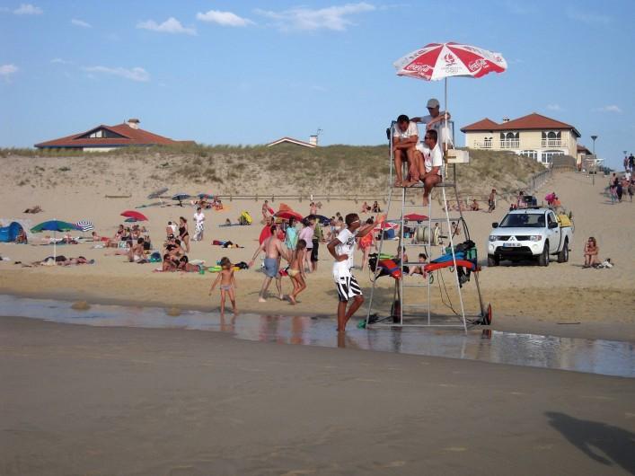 Location de vacances - Villa à Vielle-Saint-Girons - Plage surveillée du 15 juin au 15 septembre