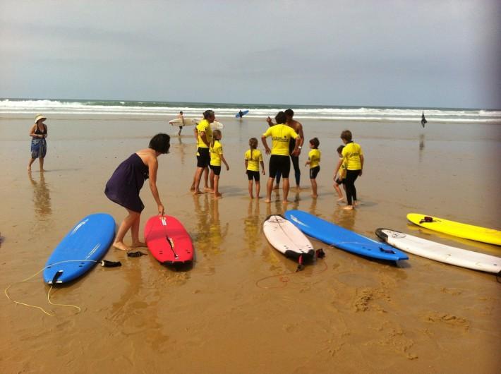 Location de vacances - Villa à Vielle-Saint-Girons - Ecole de surf