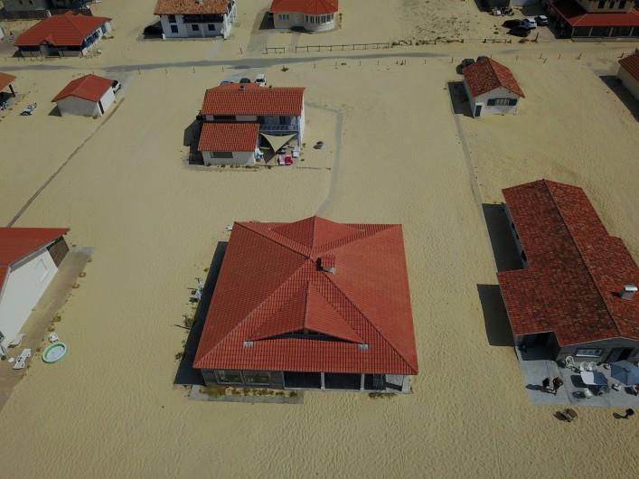 Location de vacances - Villa à Vielle-Saint-Girons - La villa vue d'un drone