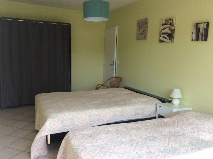 Location de vacances - Appartement à Juan les Pins - chambre verte