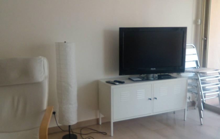 Location de vacances - Appartement à Juan les Pins - salon