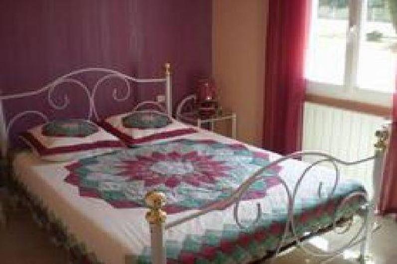 Location de vacances - Villa à Cazouls-lès-Béziers - Chambre coté sud