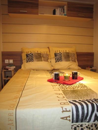 Location de vacances - Camping à Onzain - chambre parentale