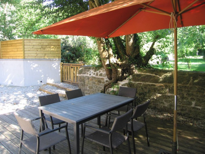 Location de vacances - Gîte à Miniac-Morvan