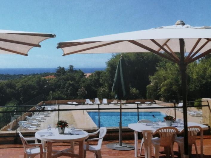 Location de vacances - Mas à La Croix-Valmer - Vue du club-house