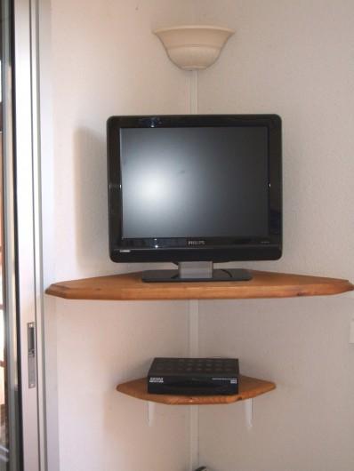 Location de vacances - Mas à La Croix-Valmer - Coin télé