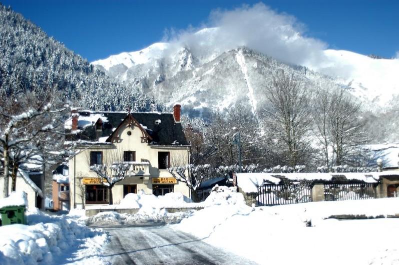 Location de vacances - Appartement à Guchen - Guchen sous la neige en hiver