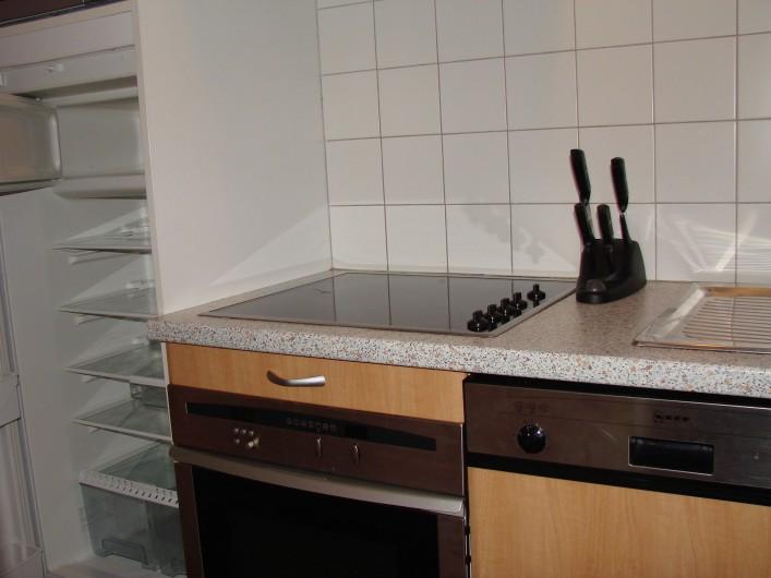 Location de vacances - Appartement à Guchen - Frigidaire avec partie congélateur