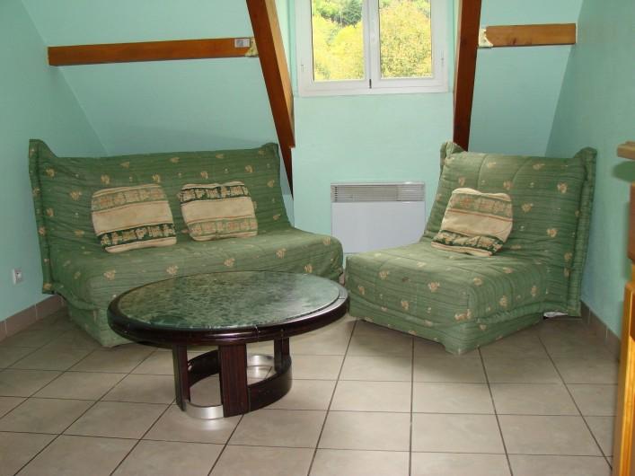 Location de vacances - Appartement à Guchen - Coin salon d'un appartement