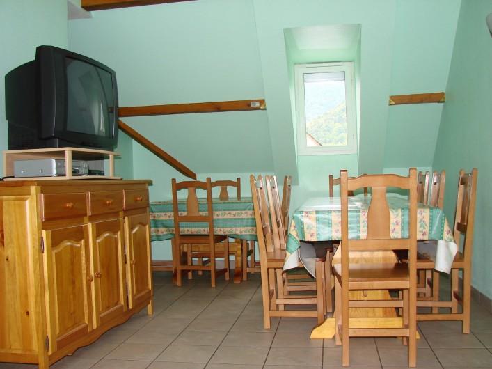 Location de vacances - Appartement à Guchen - Salle à manger d'un appartement