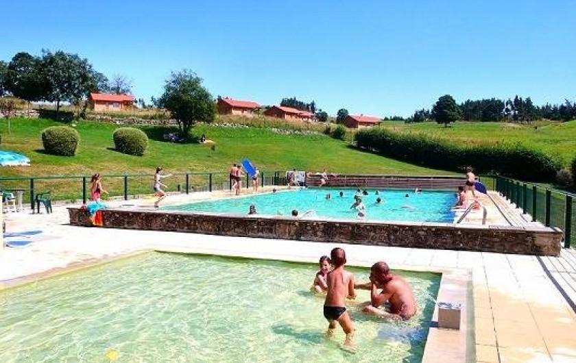 Location de vacances - Chalet à Boisset - Piscine municipale de St Pal de Chalencon