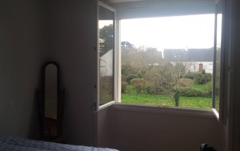 Location de vacances - Villa à Larmor-Baden - Vue depuis la chambre 3