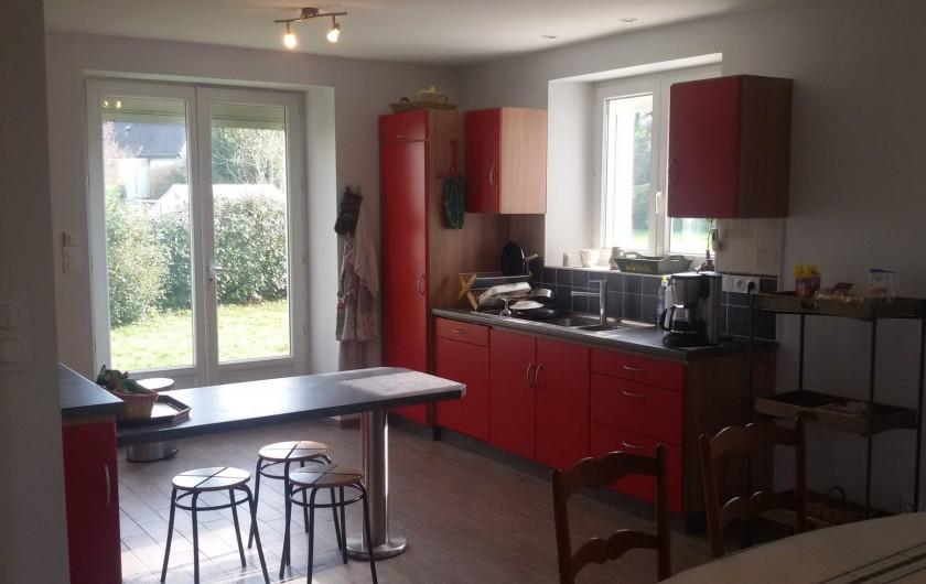 Location de vacances - Villa à Larmor-Baden - Cuisine