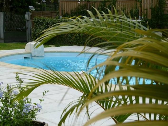 Location de vacances - Villa à Gros-Morne - Piscine avec nage à contre courant