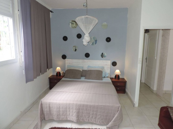 Location de vacances - Villa à Gros-Morne - Grande chambre
